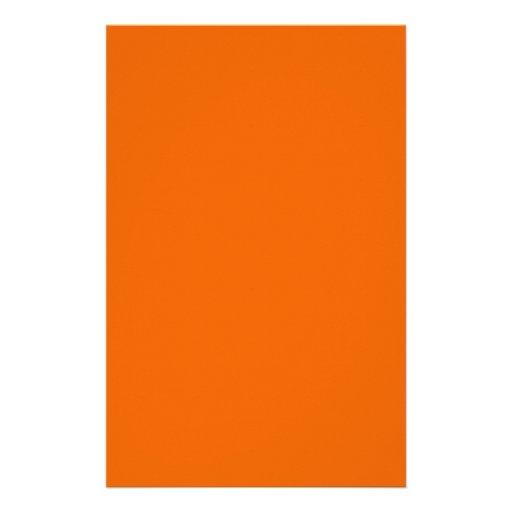 Color anaranjado 5,5 x papel brillante 8,5 flyer personalizado