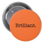 Color anaranjado de la tendencia de la mandarina b pin
