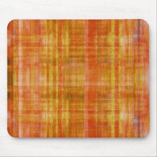 Color anaranjado del arte que pinta Mousepad