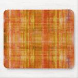 Color anaranjado del arte que pinta Mousepad Alfombrilla De Ratón
