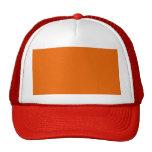 Color anaranjado gorra