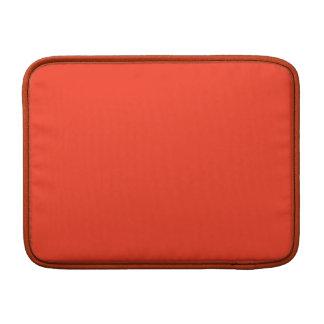 Color anaranjado simple funda  MacBook