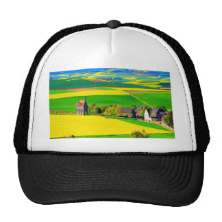 Color and Beauty oilseed rape landscape eifel Trucker Hat