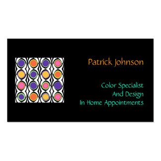 Color and Design Specialist Professional Custom Business Card