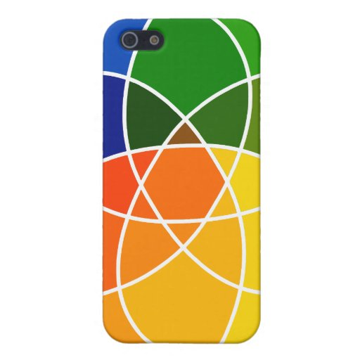 Color and Shapes iPhone case Covers For iPhone 5