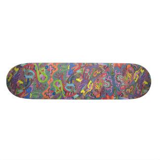 Color animado, extracto original skate board