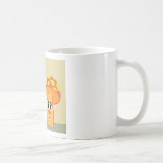 Color animated mushrooms coffee mug