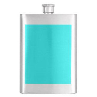 color aqua / cyan flask