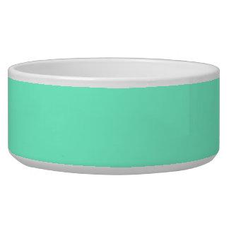 color aquamarine bowl