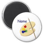 Color Artist Palette Magnet