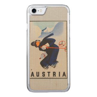 Color - Austria Ski Phone Carved iPhone 8/7 Case