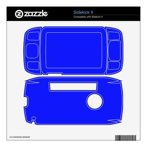 Color azul brillante skins para sidekick II