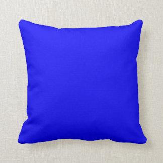 Color azul primario cojín