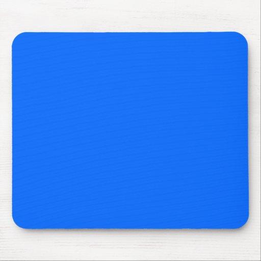 Color azul tapetes de ratones