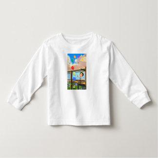 color ballons toddler t-shirt