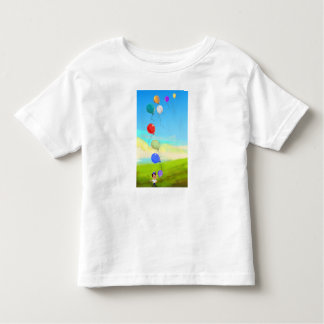 color balloons in sky Tshirt