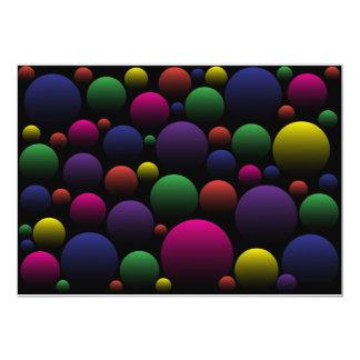 Color Balls Card