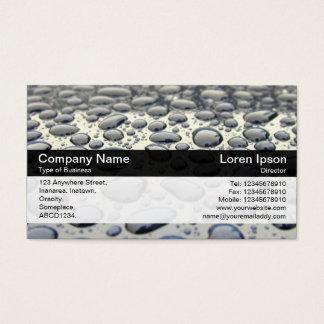 Color Band - Black - Car Hood Business Card