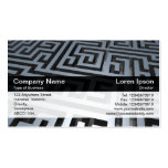 Color Band - Black - Maze Business Card