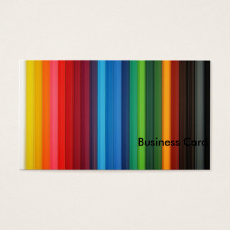 Color Band Business Card
