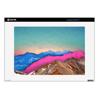 """Color Band Mountains Skins For 15"""" Laptops"""