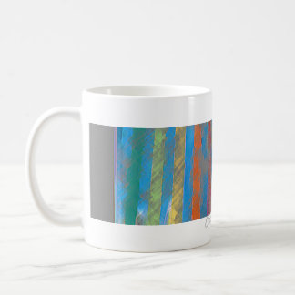 Color Band Rainbow Waterfall CricketDiane Classic White Coffee Mug