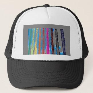 Color Band Rainbow Waterfall CricketDiane Trucker Hat