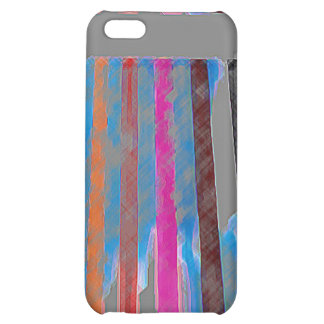 Color Band Waterfall CricketDiane Designer Stuff iPhone 5C Cover