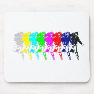 Color Bar Cameramen Mouse Pad