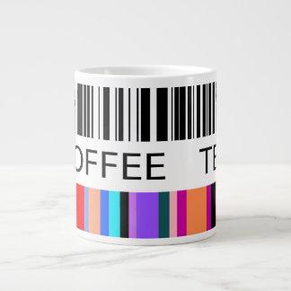 Color Bar Code 20 Oz Large Ceramic Coffee Mug