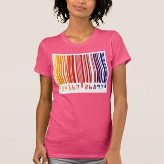 Color Bar Code Ladies Top