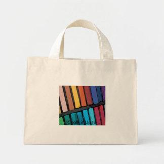 Color Bars Mini Tote Bag