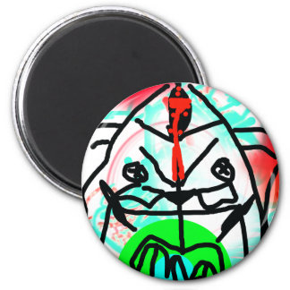 Color Bear 2 Inch Round Magnet