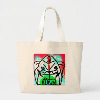 Color Bear Large Tote Bag