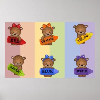 Color Bears Print