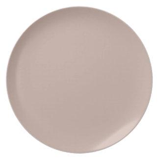Color beige de la piedra arenisca del moreno solam platos para fiestas