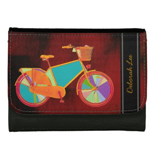 color bike to add name wallets
