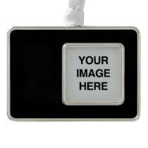 COLOR BLACK.png Silver Plated Framed Ornament
