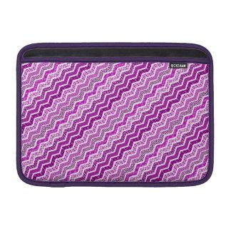 Color blanco rosado de los diseños geométricos de fundas MacBook