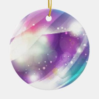 Color Blend Ceramic Ornament