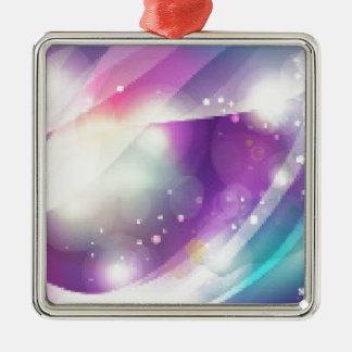 Color Blend Metal Ornament
