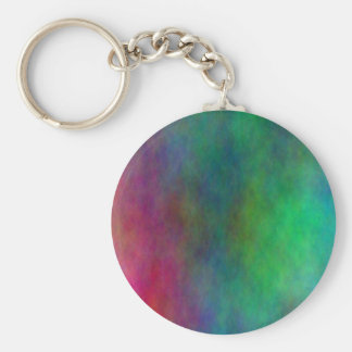 Color Blended Background Keychain