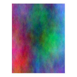 Color Blended Background Postcard