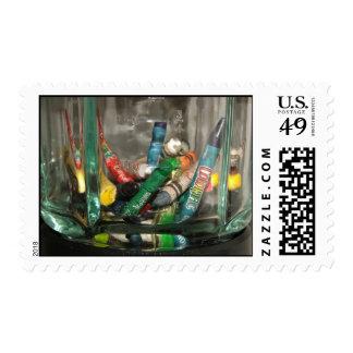Color Blending Postage Stamp