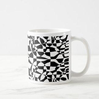 color blind inverse classic white coffee mug