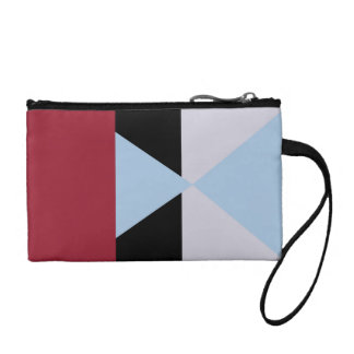 color block 001 coin purse