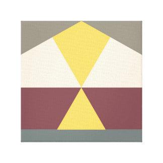 color block 007 canvas print