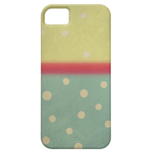 Color Block Case Polka Dots iPhone 5s - iphone 5