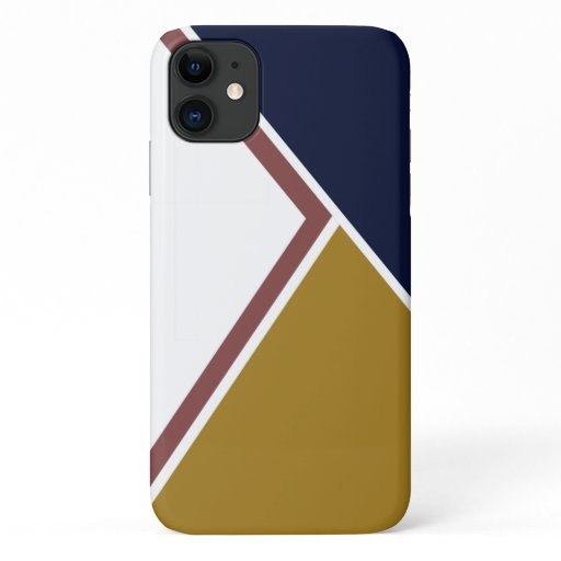 color block design iPhone cover