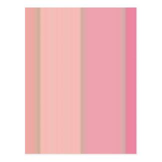Color block designs postcard